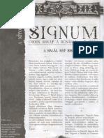 Signum 7. - A Halál Hat Szolgája & Kalandötlet