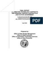 Contracts Report