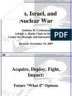 iran & israel Nuclear war