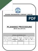 Planing Procedure Rev01