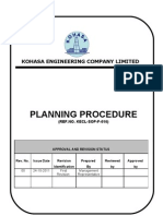Planing Procedure Rev01