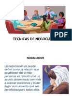 Tecnicas de Negociacion Clase 7