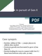 Reebok - Gen X Case