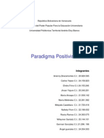 Trabajo Del Paradigma Positivista (Autoguardado)