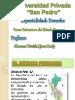 estructura peruano