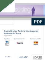 Schéma Directeur Territorial d'Aménagement Numérique de l'Alsace