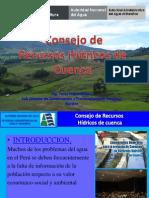 Consejo de Recursos Hidricos de Cuenca Peru Percy Feijoo