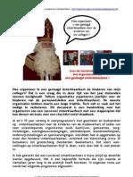 Sinterklaasfeest Organiseren. Handreiking Met Tips Voor Sint Nicolaas Feest Met Goochelaar in Voorprogramma