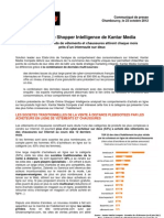 CP Kantar Media Compete, Online Shopper Intelligence Habillement