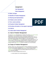 Problem Management - Itil