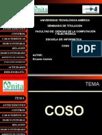Metodología Coso - Ricardo Castelo