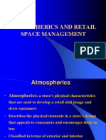 89213146 Chapter 8 Atmospherics and Retail Space Retail Management