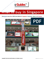 What to Buy in Singapore