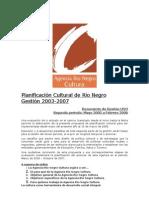 A A A a a Planificación Cultural Junio 2005-2007