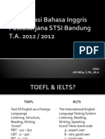 Afri Wita - Intro to TOEFL