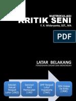 Bahan Matrikulasi Kritik Seni 2012-1997-2004