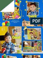 "Dave Turns 3 ""Album"" Mcdonald's Market Market"
