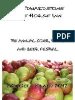 Cider Fest Programme