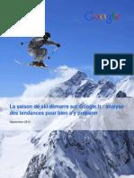 Etude Ski 2012