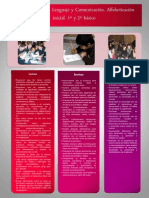 poster sala didáctica EBA Lenguaje