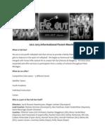 info meeting handout