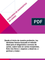 Auxiliares de Diagnostico de Caries