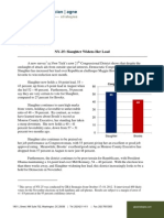 NY-25 GBA Strategies for DCCC (Oct. 2012)