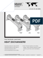 American Industrial Liquid Cooled Oil Heat Exchanger