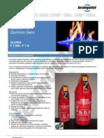 Extintor Pó F2GM-F1G
