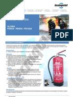 Extintor Pó PD4-6-9-12-GA