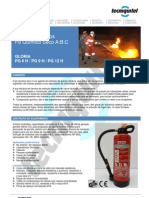 Extintor Pó PG6H-PG9H-PG12H