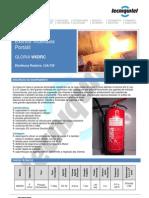 Extintor W6DRC