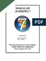 Makalah Windows 7