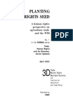PLANTING THE RIGHTS SEED