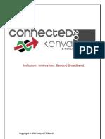 Kenya ICT Masterplan 2012-2017 For Review