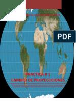 Practice1-Cambio de Proyecciones(ArcGis)