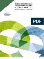 Rapport annuel de la TRN 2011-2012