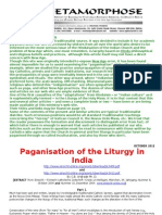 The Paganisation of the Liturgy in India-c b Andrade