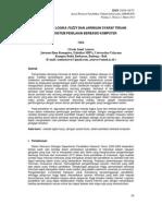 Penerapan Logika Fuzzy Dan JST Pada Sistem Penilaian Berbasis Komputer