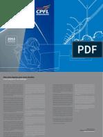 CPFL Renovaveis Relatório Anual 2011