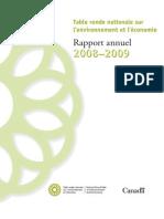 Rapport annuel de la TRN 2008-2009