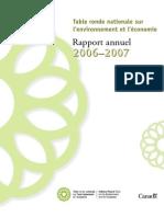 Rapport annuel de la TRN 2006-2007