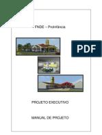 Manual de Projeto - ANEXO IV Creche Proinfância