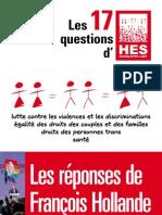 Promesses de François Hollande aux LGBT