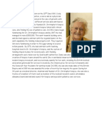 Dame Cicely Saunders and St Christophers Hospice