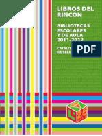 catálogo de selección Bibliotecas Esc.Aula 2011-2012