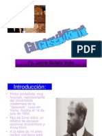 Gustav Klimt. Ps. Jaime Botello Valle.