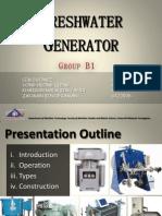 B1 Freshwater Generator