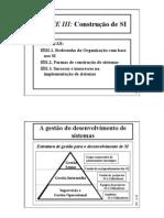 Sistemas de Informação para Gestão - III Con