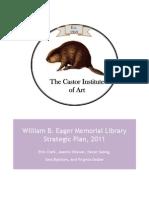 Strategic Plan-Art School Library